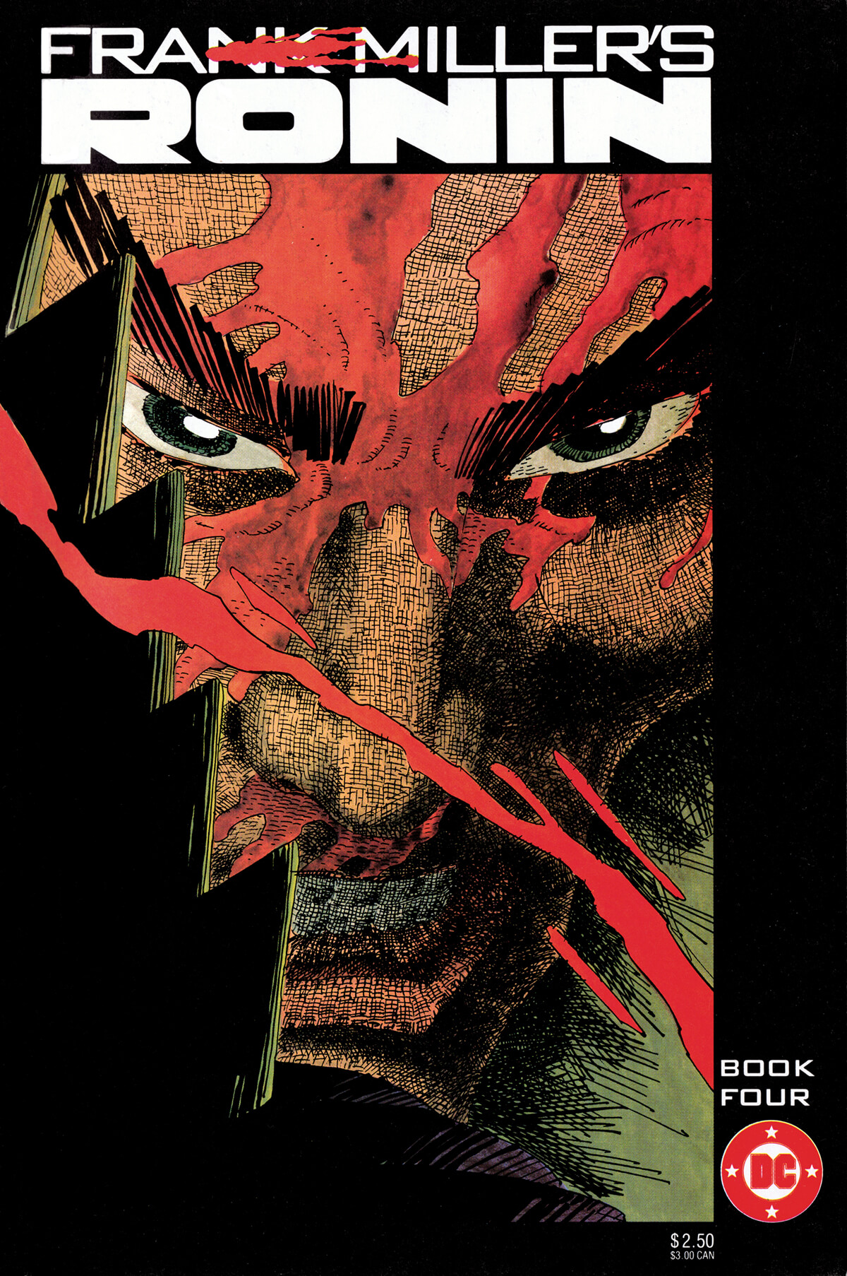 Ronin 4 Cover by Frank Miller
