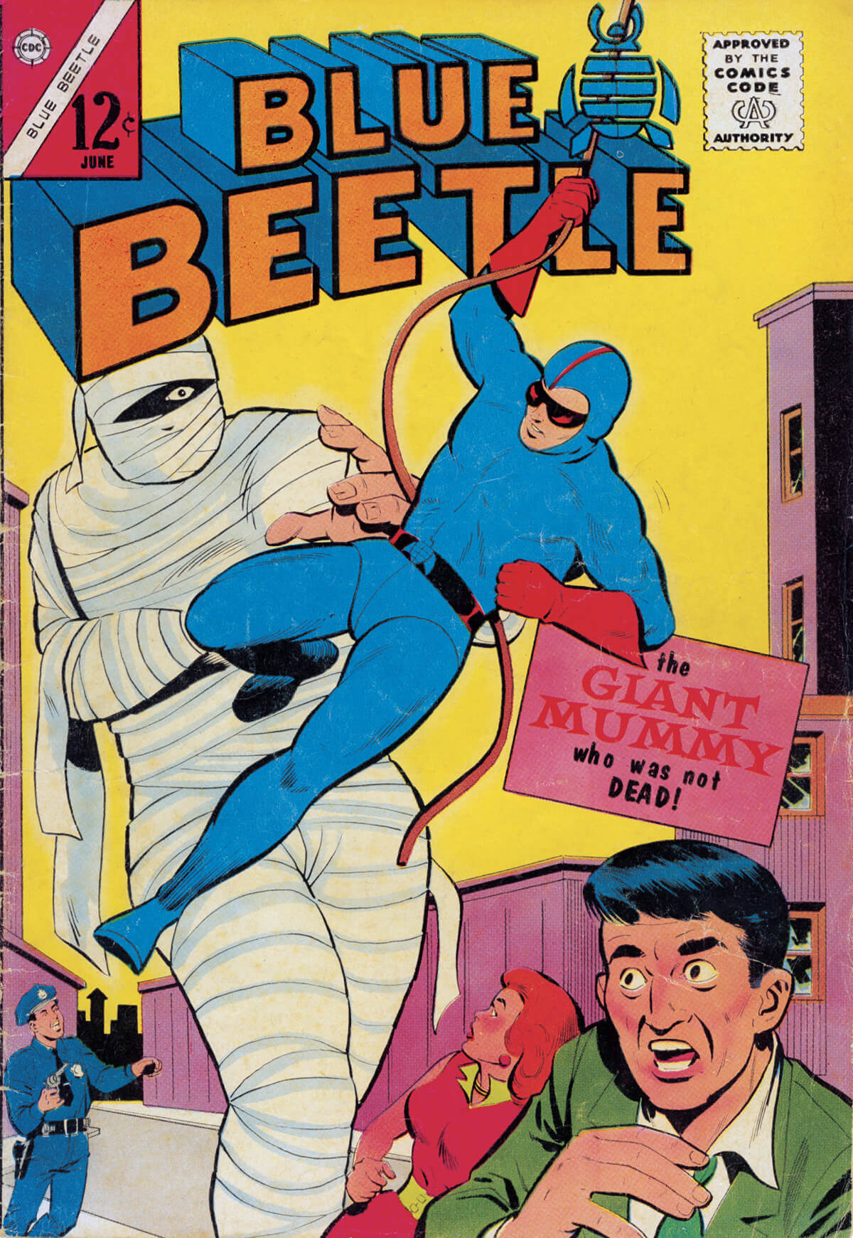 Blue Beetle 1 Cover by Molno and McLaughlin