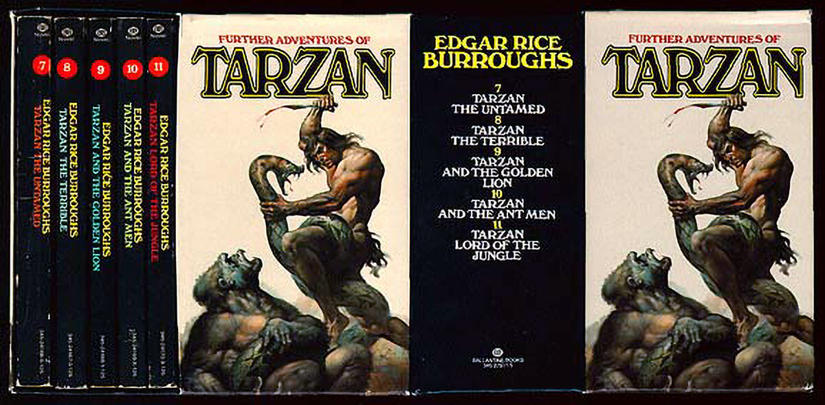 Boris Vallejo Tarzan Box Set
