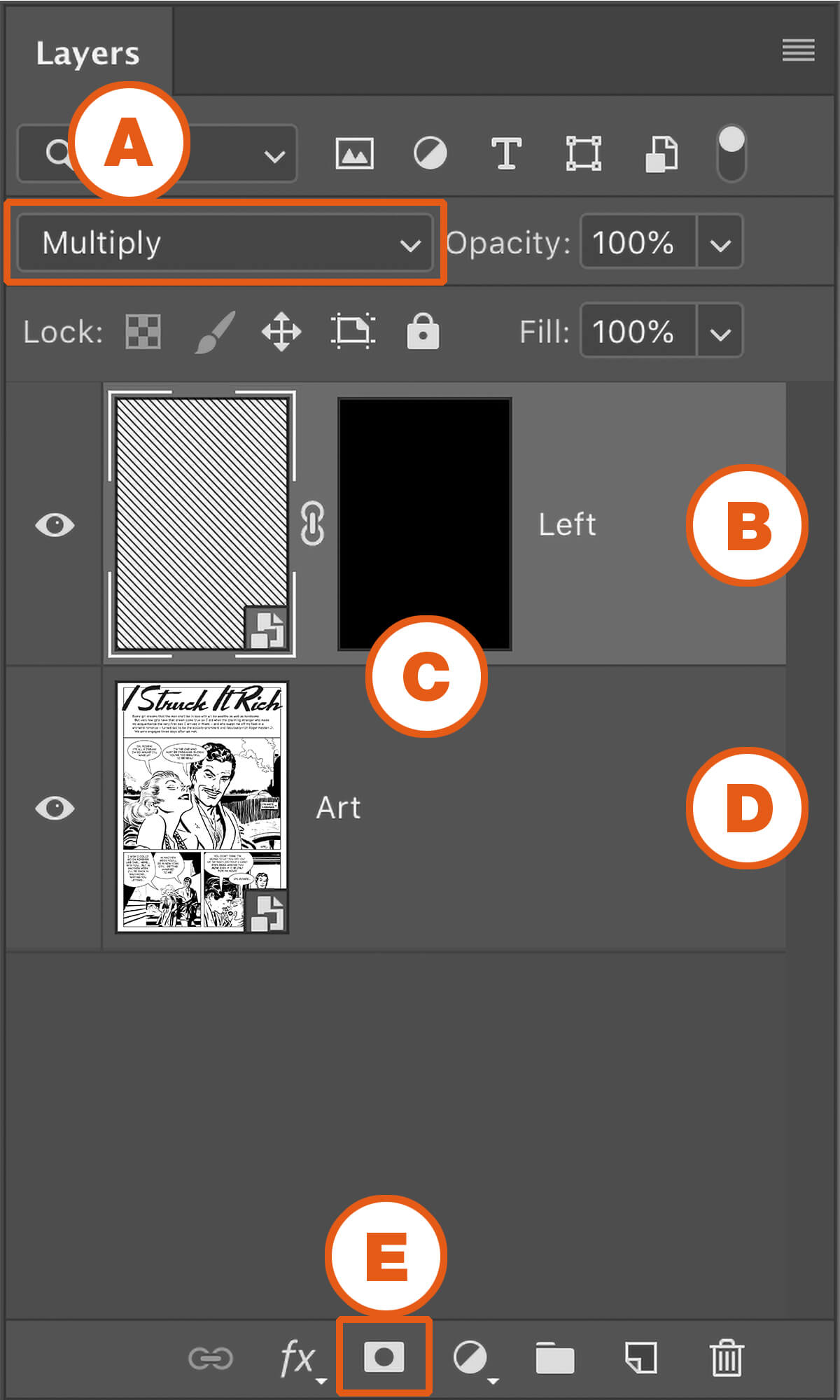 Craftint Photoshop Add Layer Palette