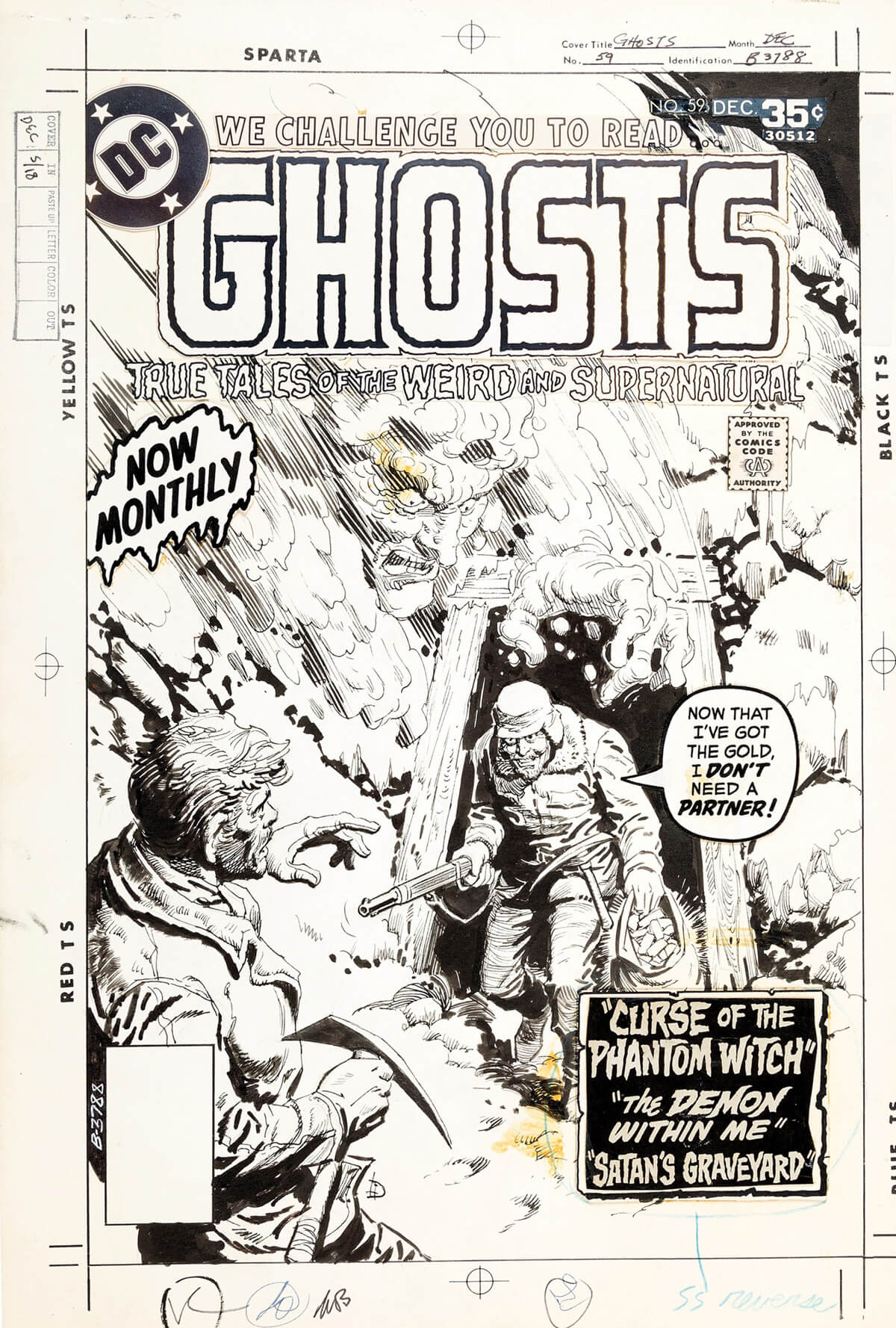 DC Ghosts 59 Cover by Luis Dominguez