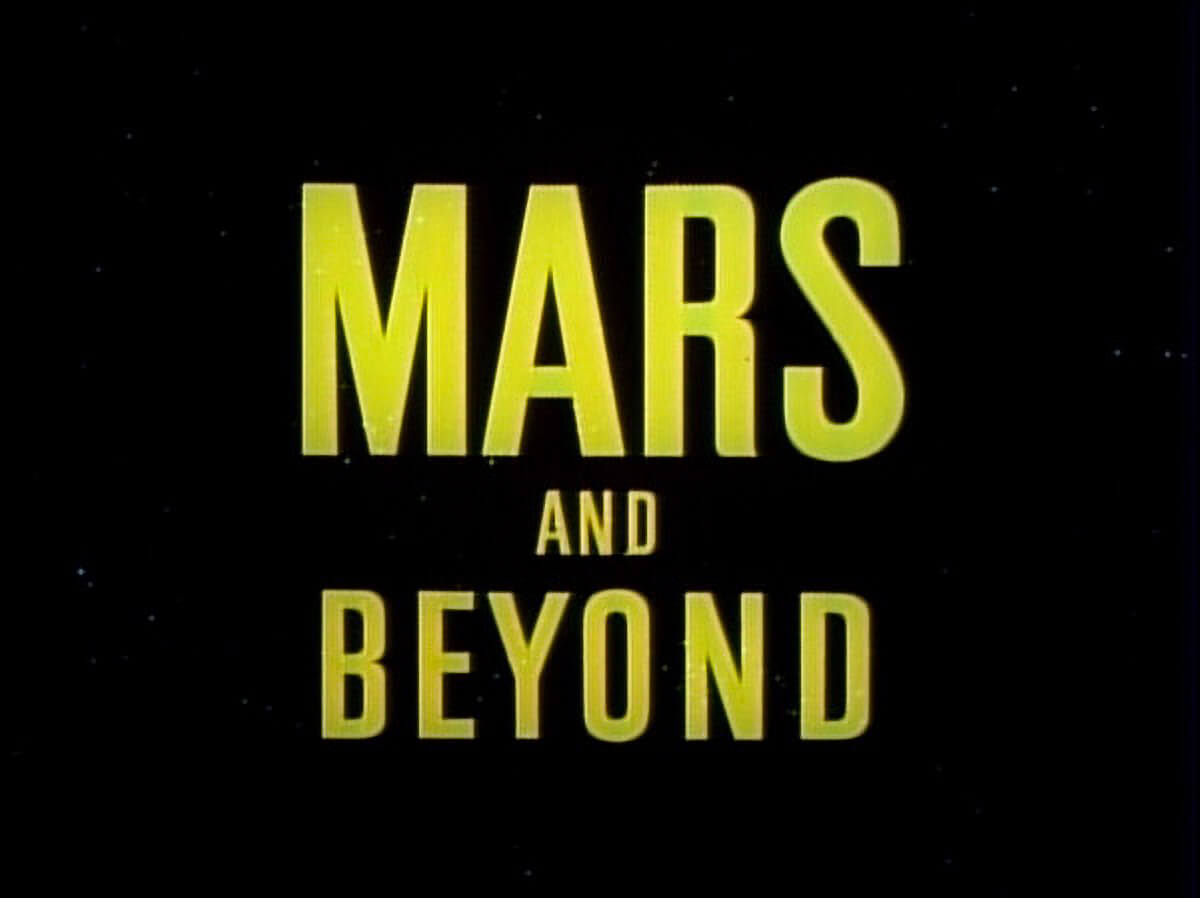 Disney Mars And Beyond 1
