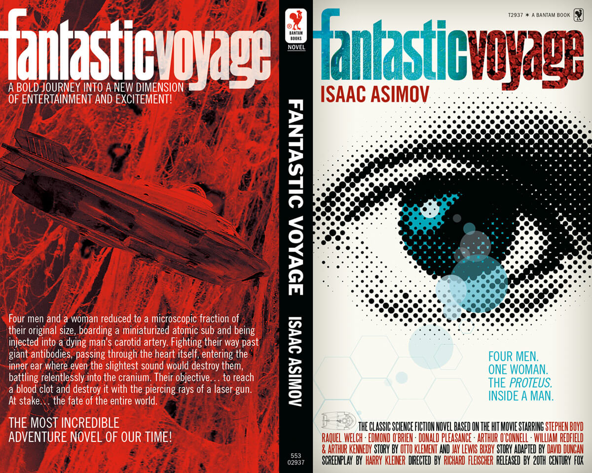 Fantastic Voyage Book Cover by Scott Dutton