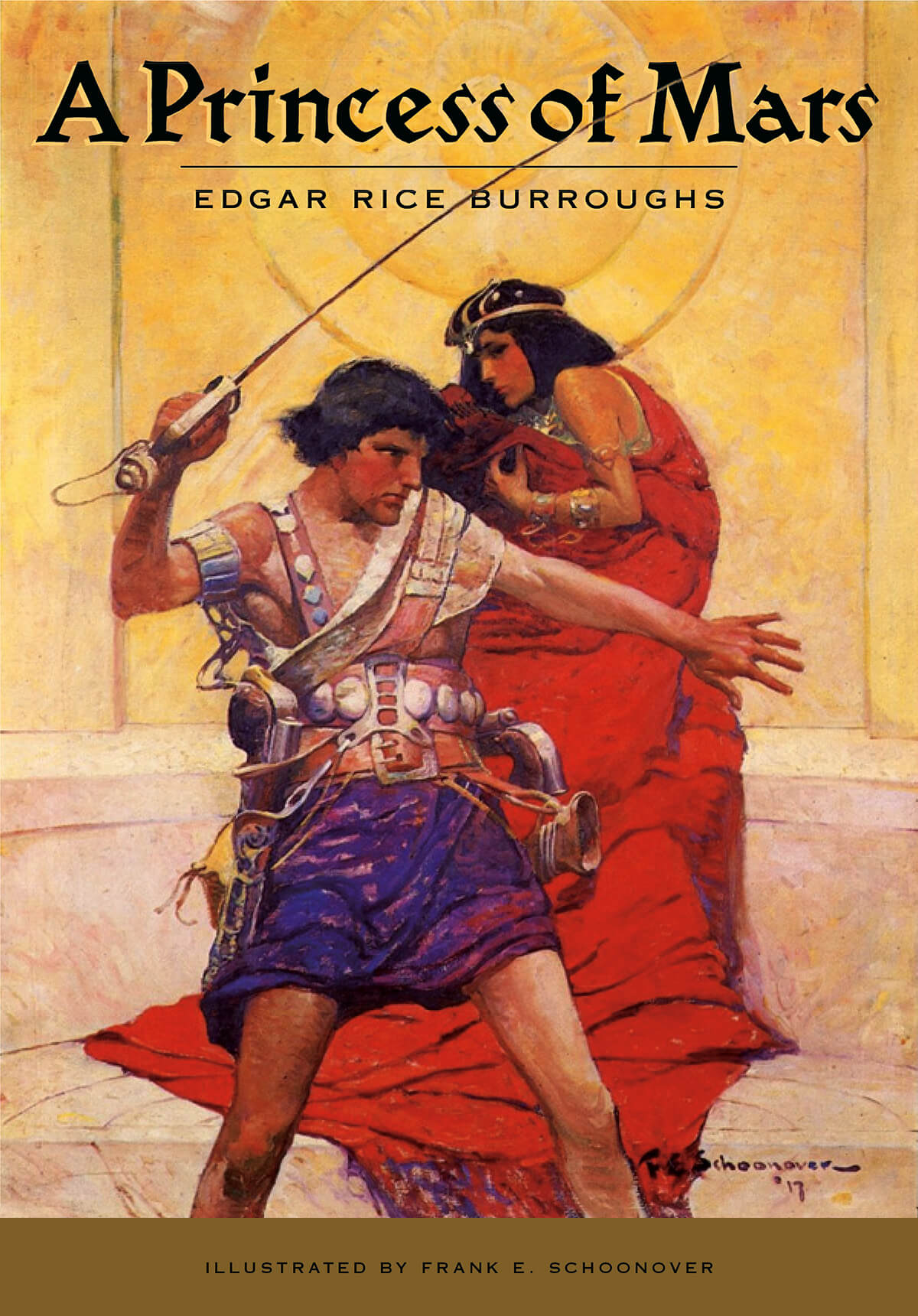 Frank Schoonover Princess Of Mars Cover 3