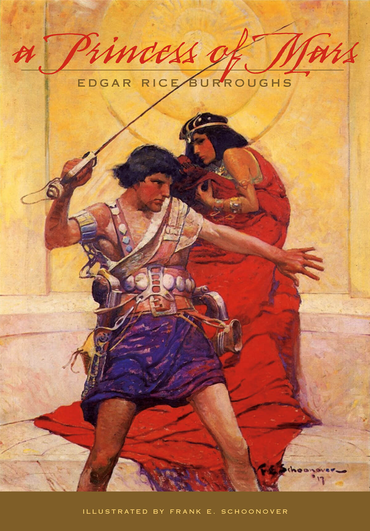 Frank Schoonover Princess Of Mars Cover 4