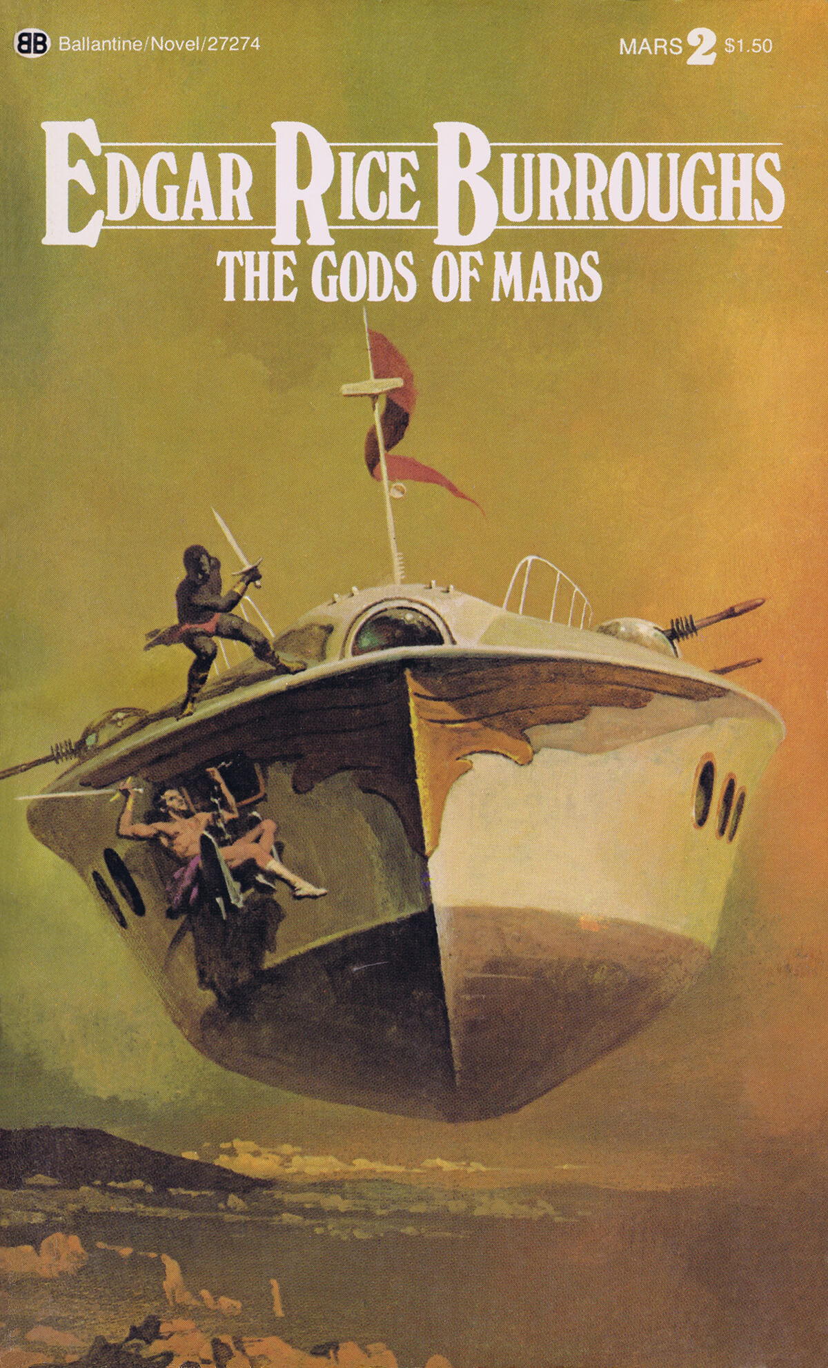 Gino Dachille 2 The Gods Of Mars Cover