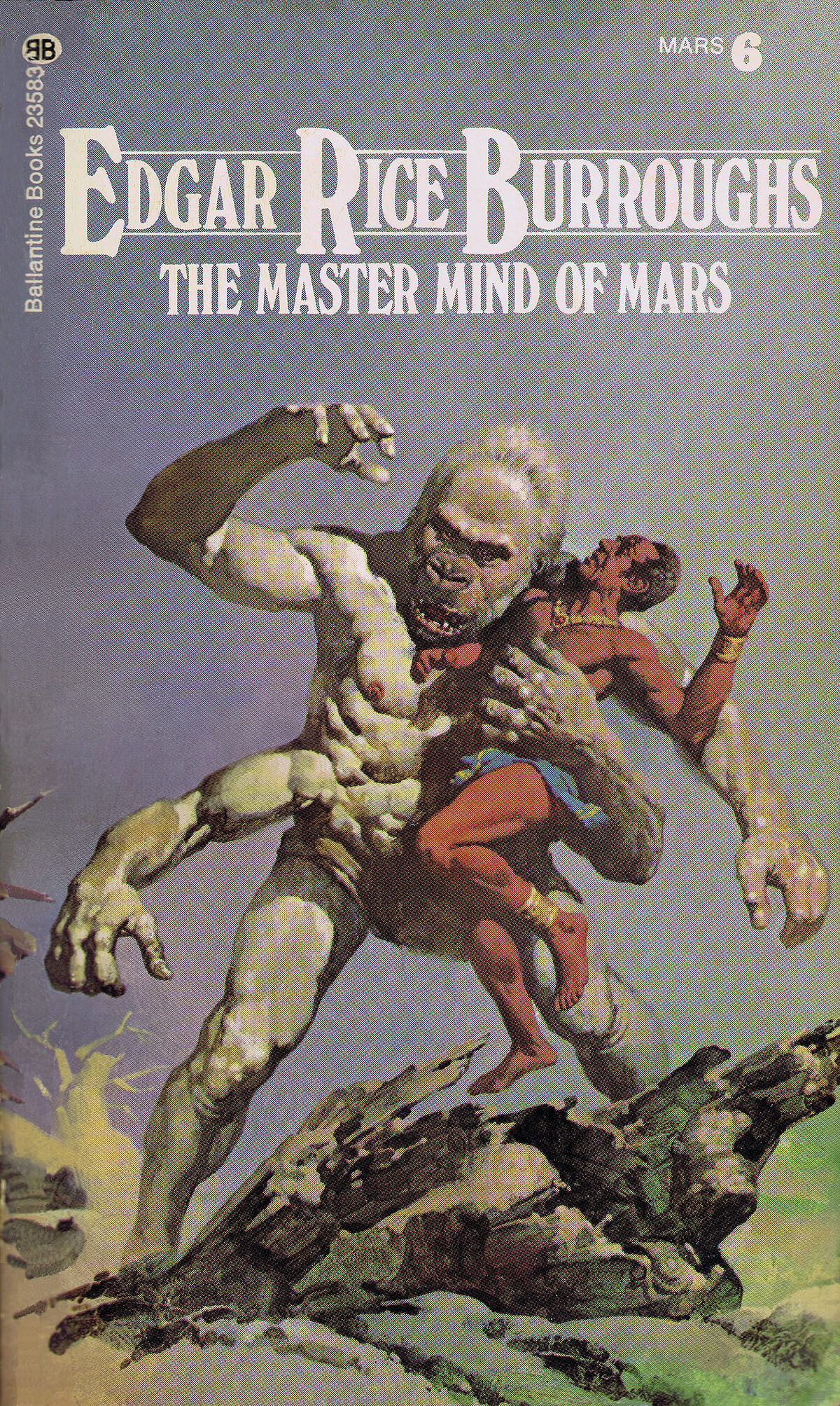 Gino Dachille 6 The Master Mind Of Mars Cover
