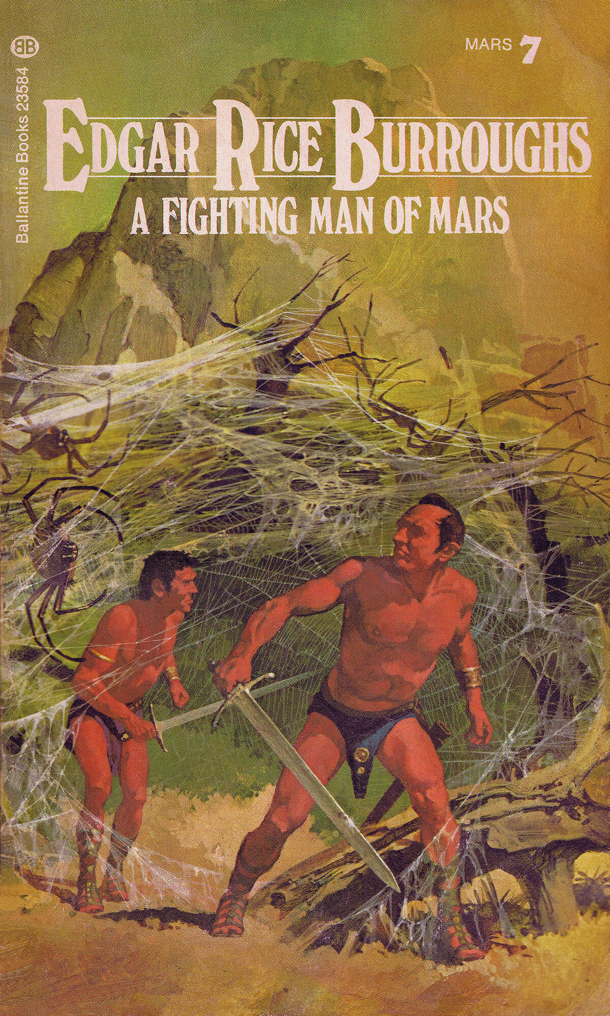 Gino Dachille 7 A Fighting Man Of Mars Cover