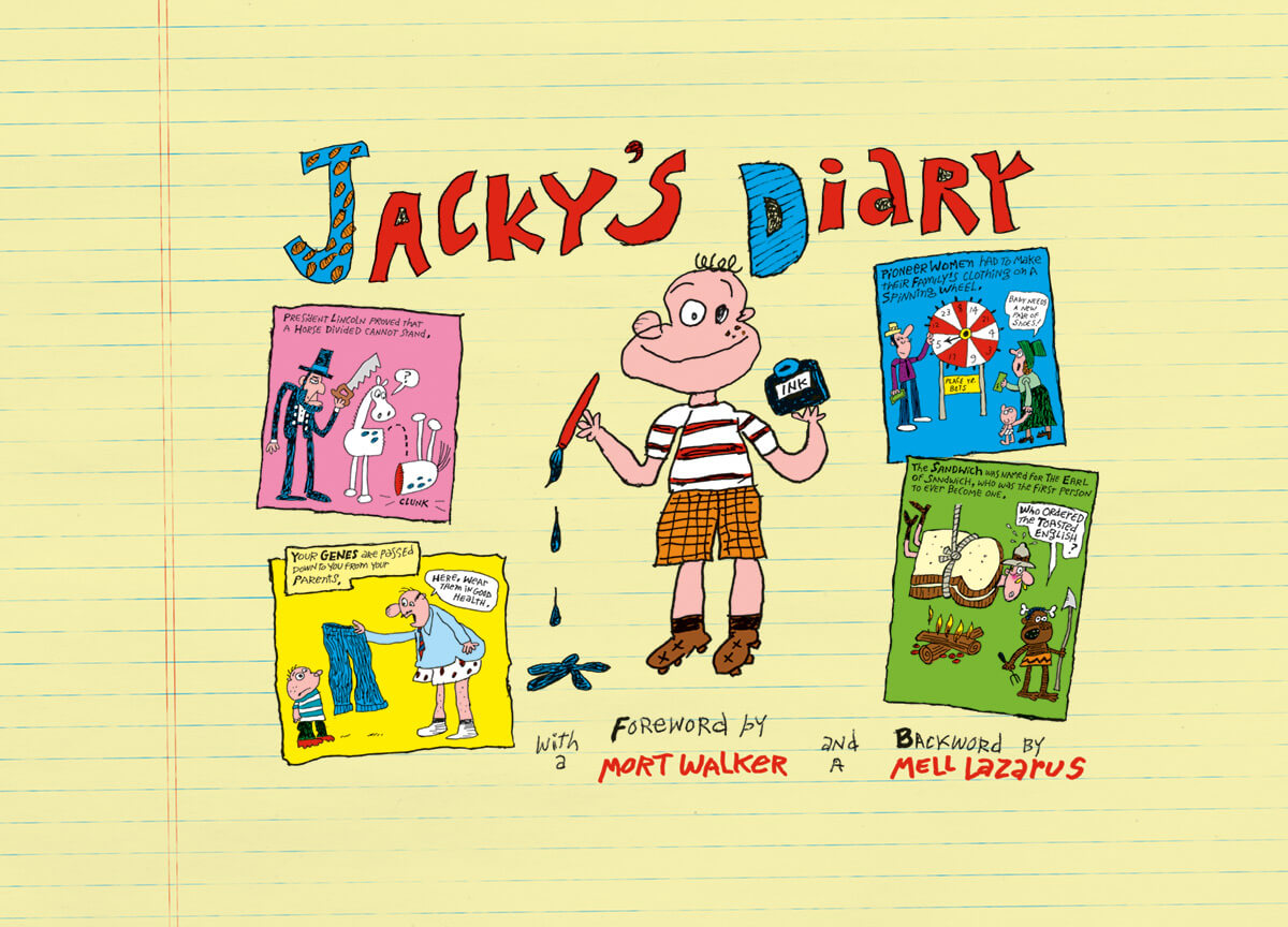 Jacky's Diary cover, colour by Scott Dutton