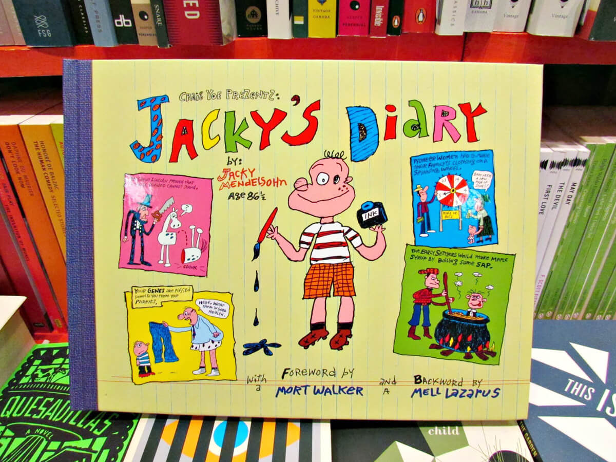 Jacky's Diary cover, published version