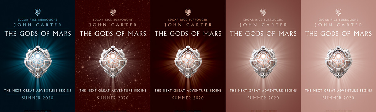 John Carter of Mars 2 The Gods of Mars Teaser Poster