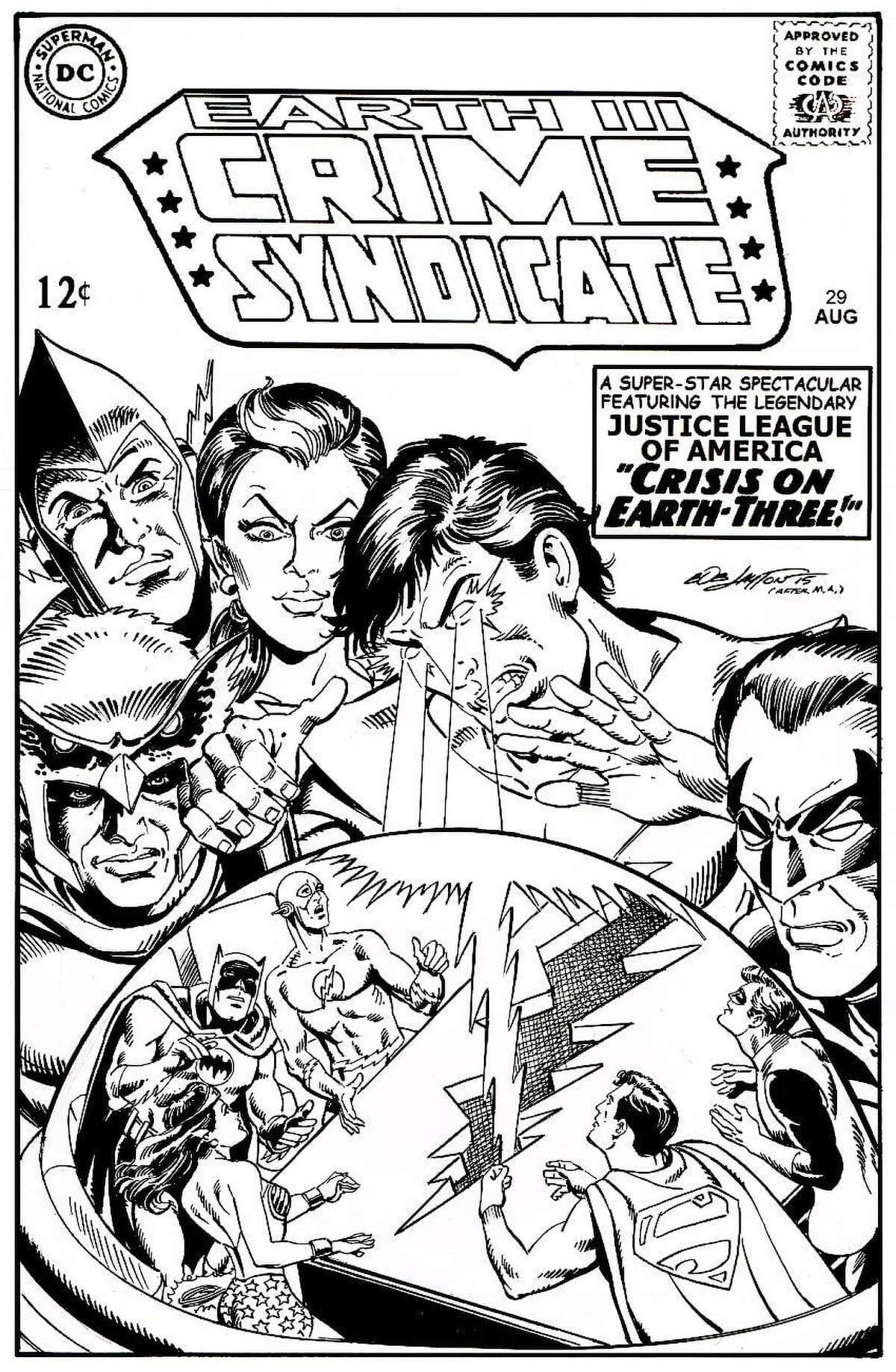 The Crime Syndicate by Bob Layton