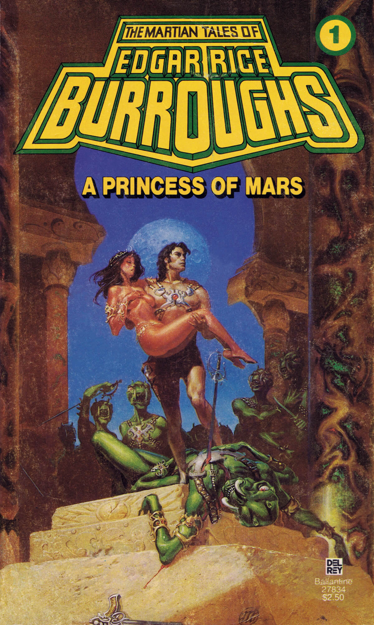 Michael Whelan 1 A Princess Of Mars Cover