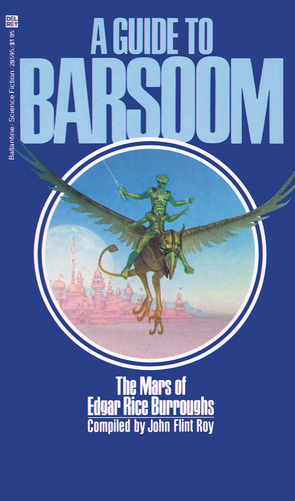 Michael Whelan 12 A Guide To Barsoom Cover