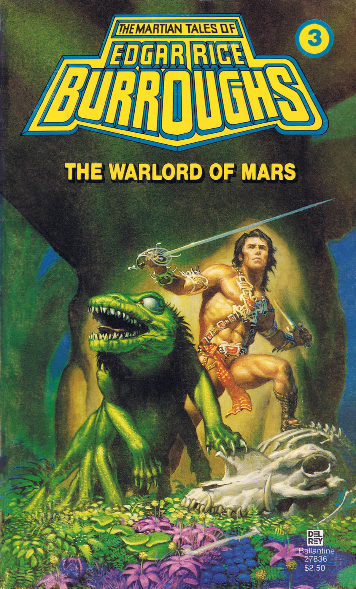 Michael Whelan 3 The Warlord Of Mars Cover