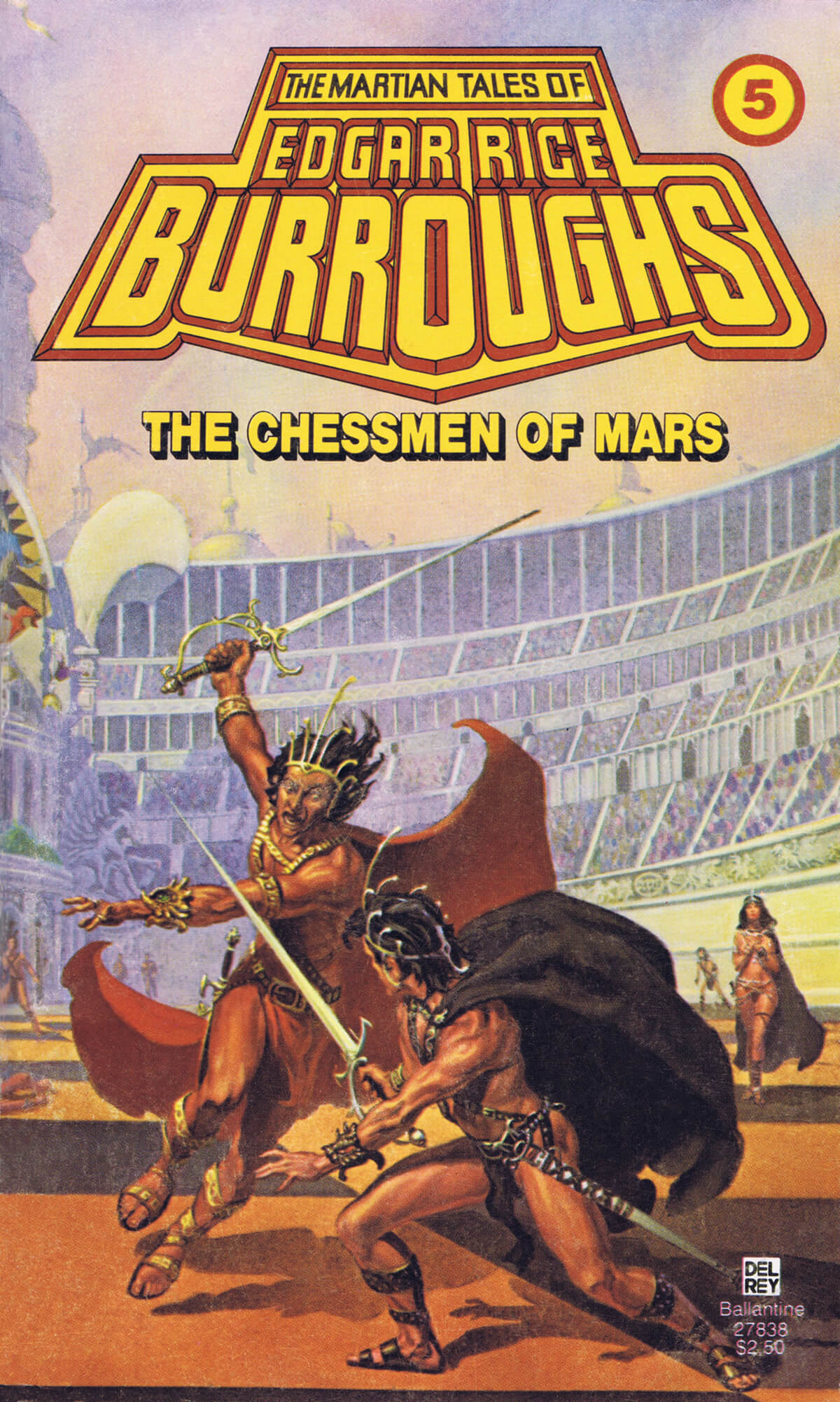 Michael Whelan 5 The Chessmen Of Mars Cover