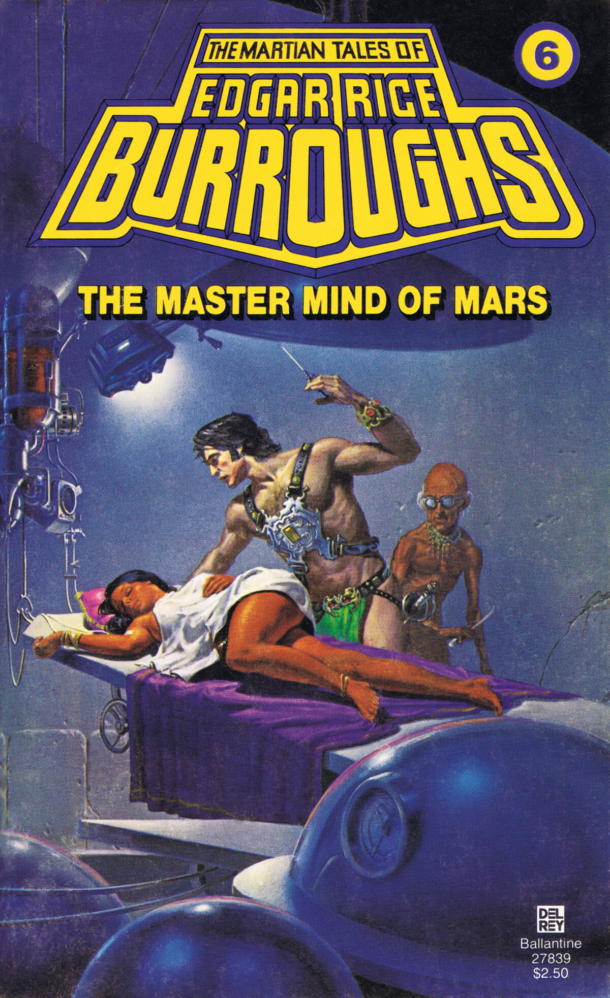 Michael Whelan 6 The Master Mind Of Mars Cover