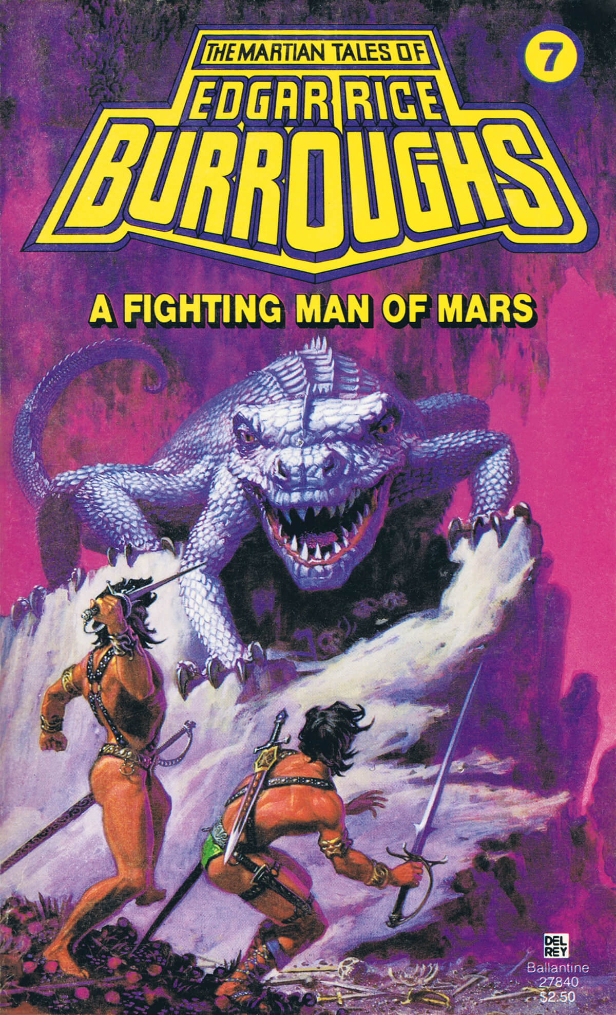 Michael Whelan 7 A Fighting Man Of Mars Cover