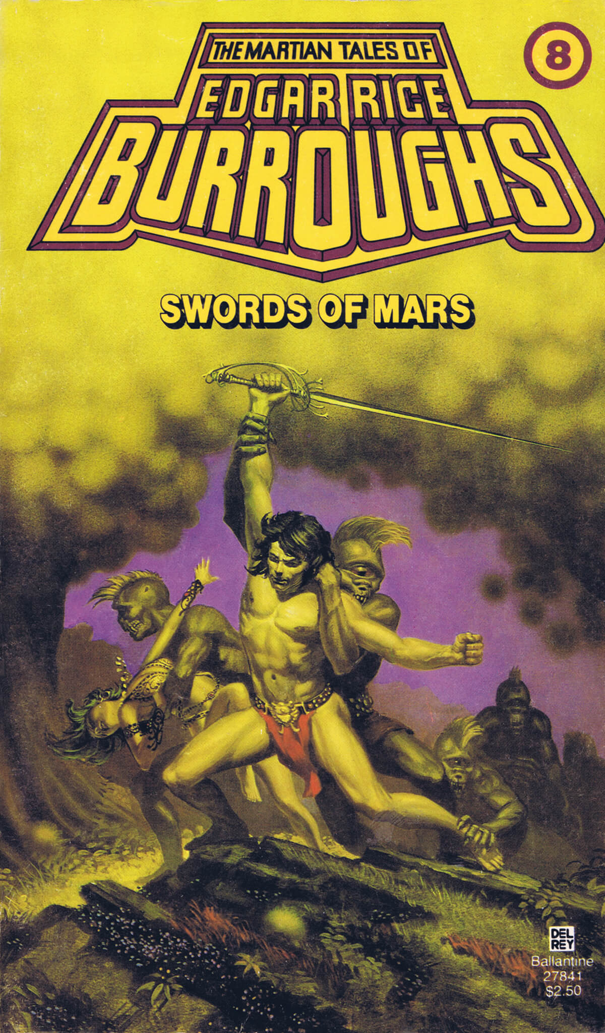 Michael Whelan 8 Swords Of Mars Cover