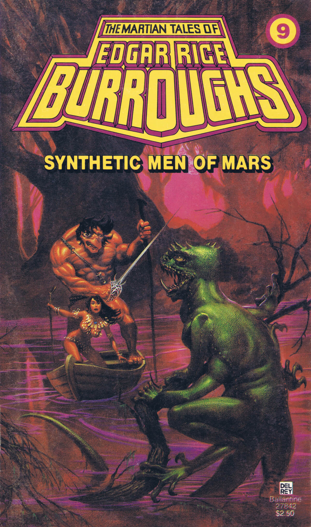 Michael Whelan 9 Synthetic Men Of Mars Cover