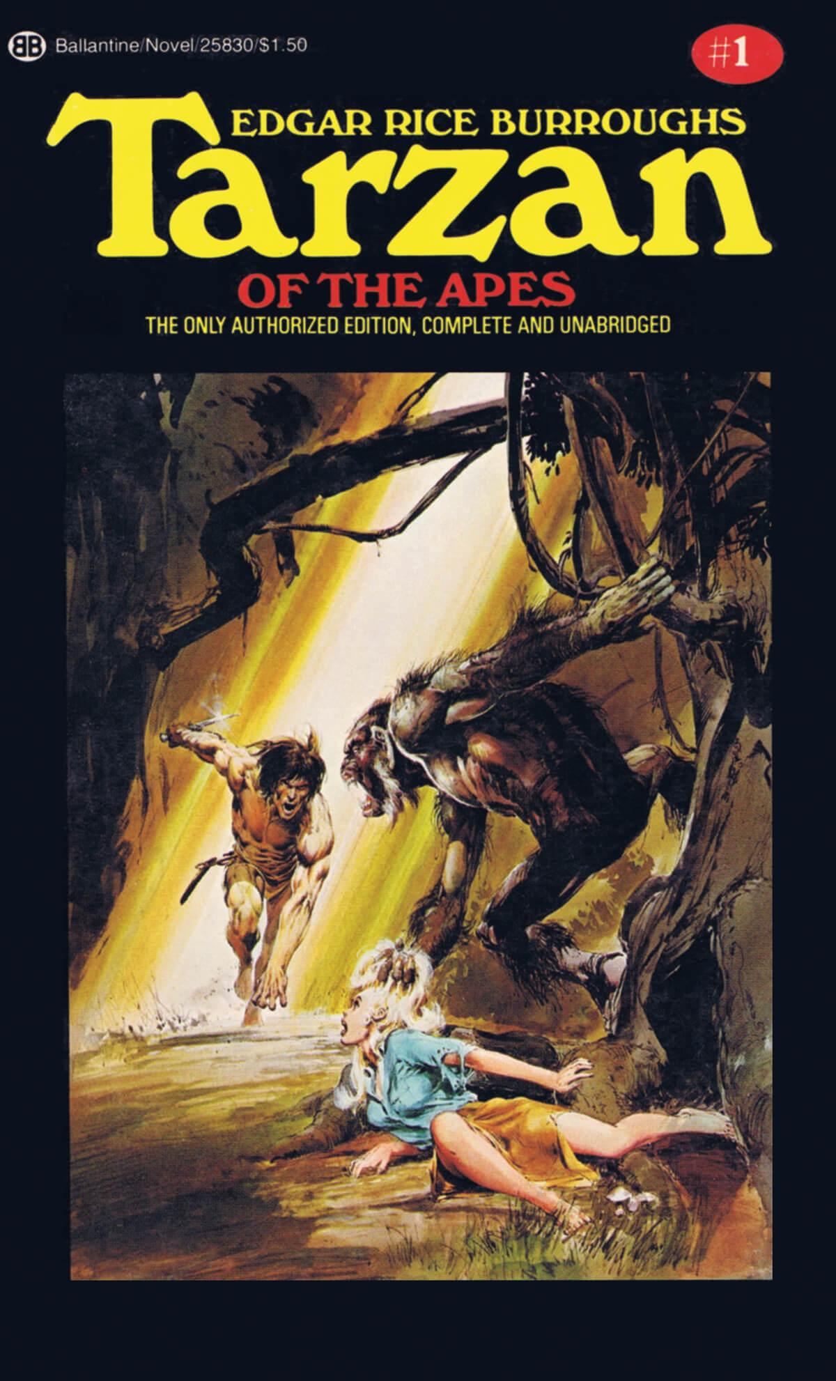 Neal Adams 1 Tarzan Of The Apes Cover