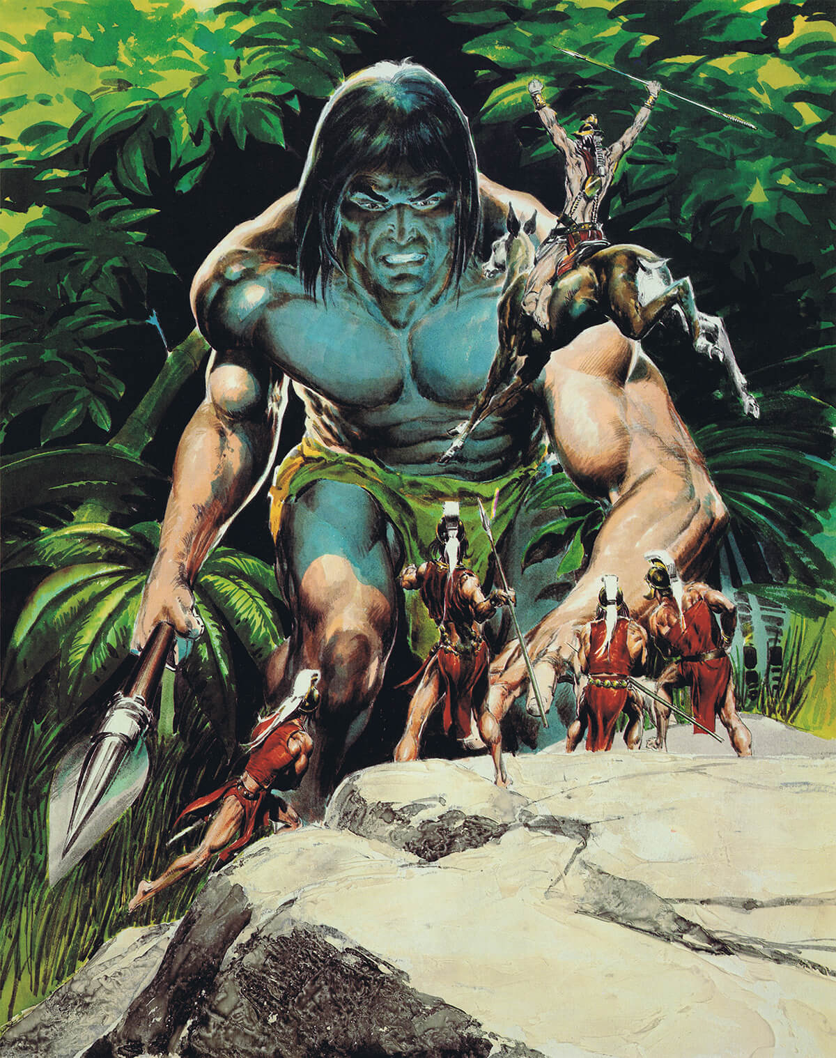 Neal Adams 10 Tarzan And The Ant Men Original