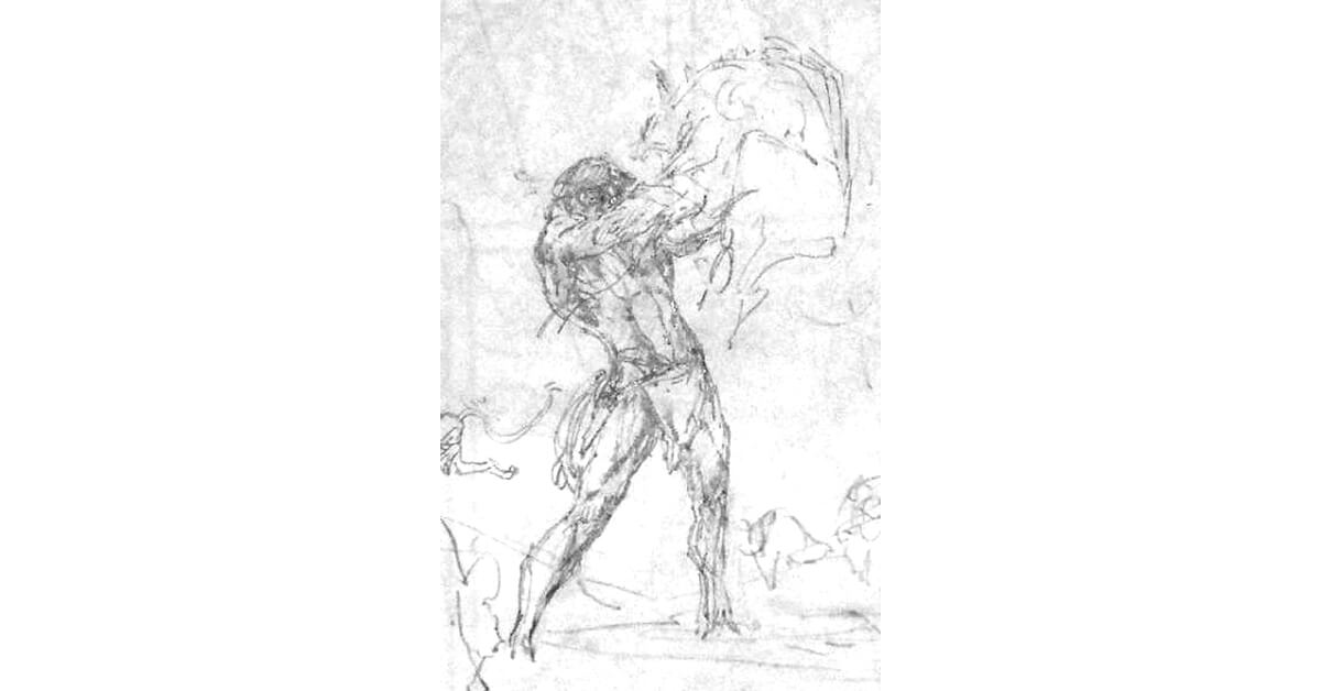 Neal Adams 15 Tarzan Triumphant Rough