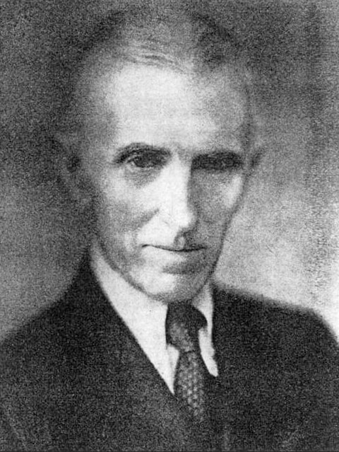 Nikola Tesla as an Older Man