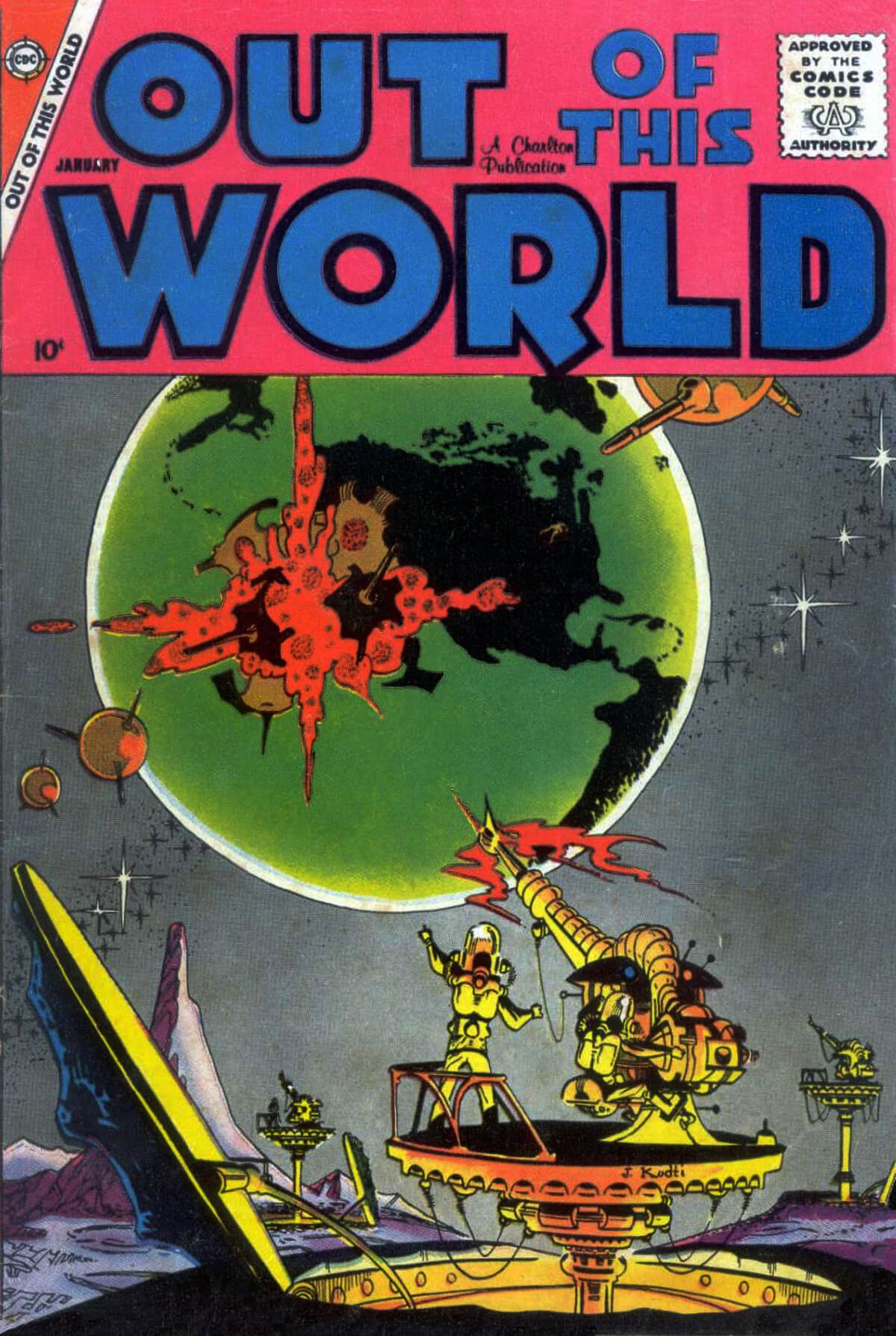 Charlton Comics Out Of This World 11