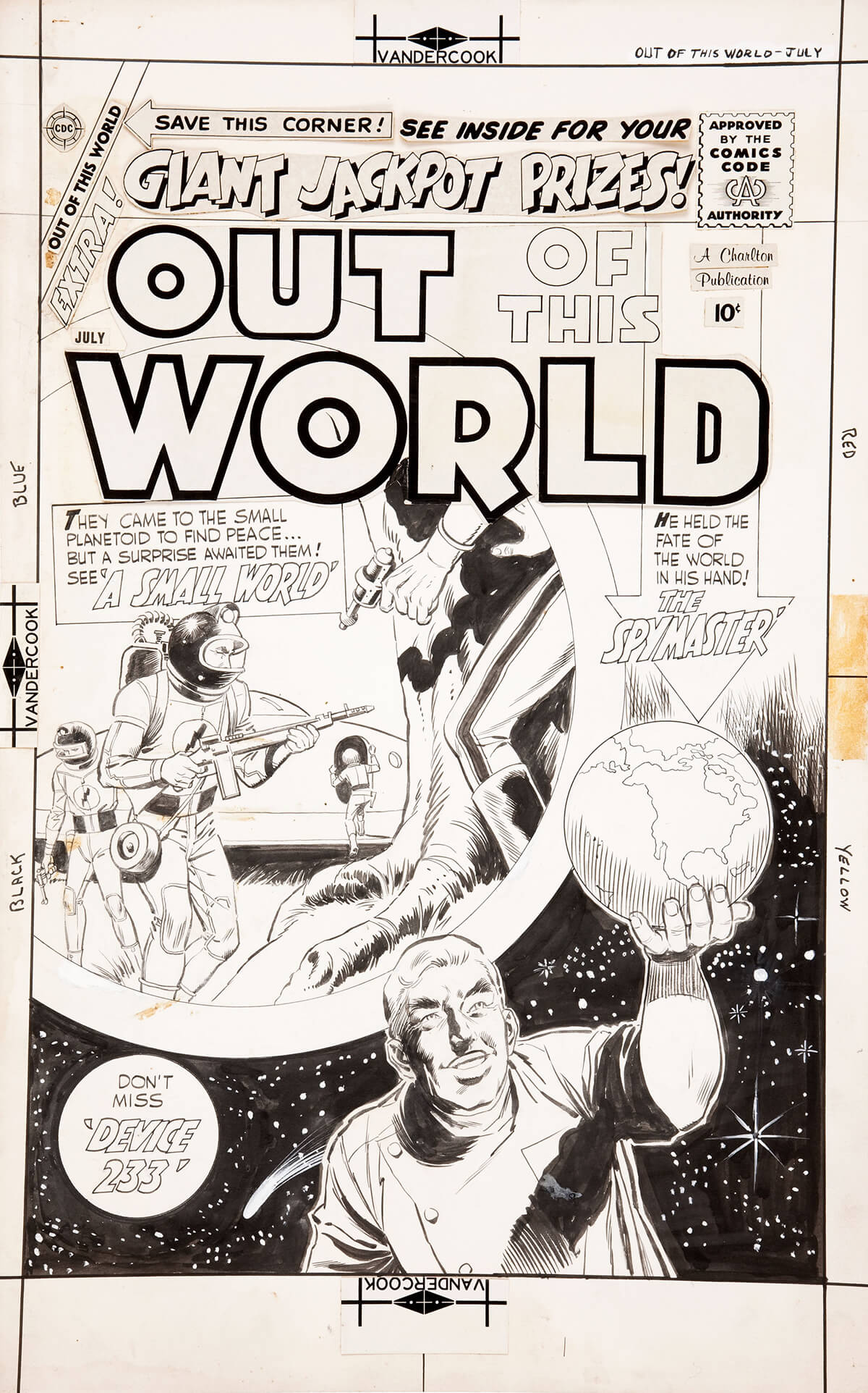 Out Of This World 14 Cover by Dick Giordano