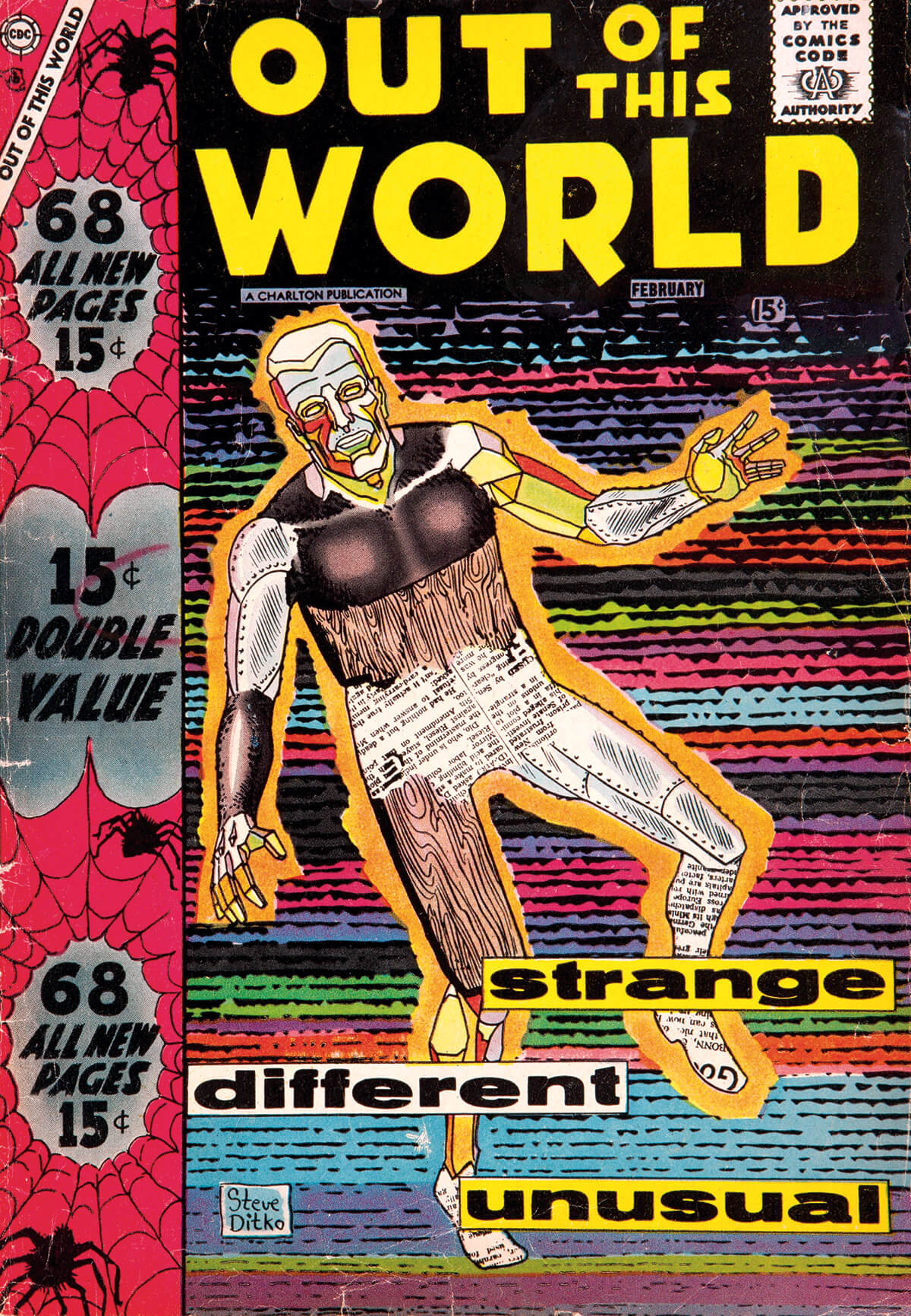 Charlton Comics Out Of This World 7
