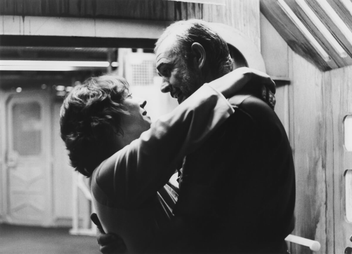 Sean Connery and Kika Markham