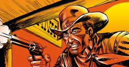 Outlaws Of The West 17 Cover OG
