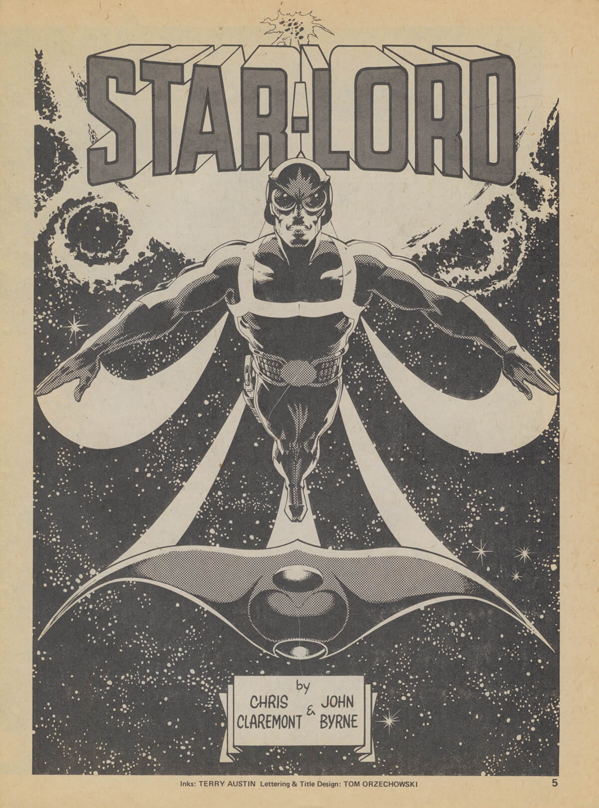 Star-Lord by John Byrne and Terry Austin