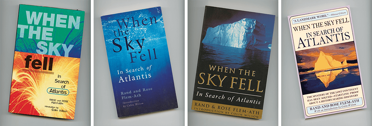 When the Sky Fell Published Covers