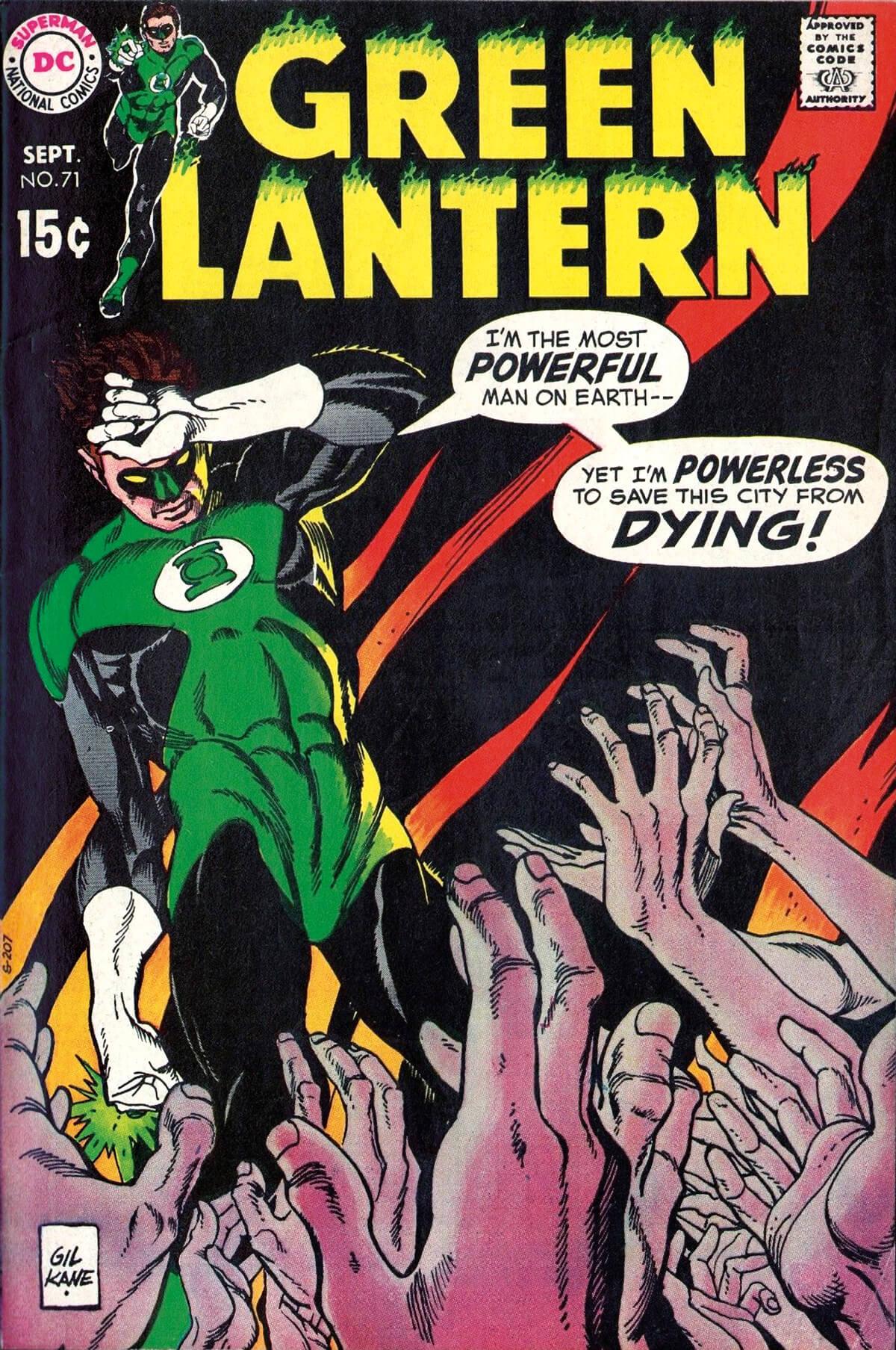 Green Lantern 71 Cover by Gil Kane
