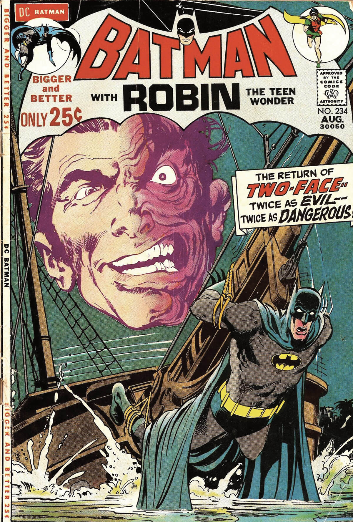 Batman 234 Cover by Neal Adams