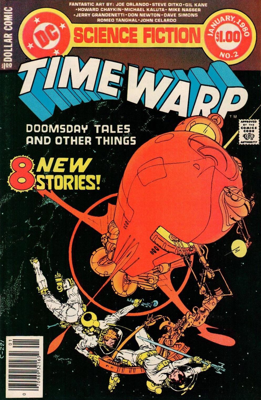 Time Warp 2 Cover by Michael Wm Kaluta