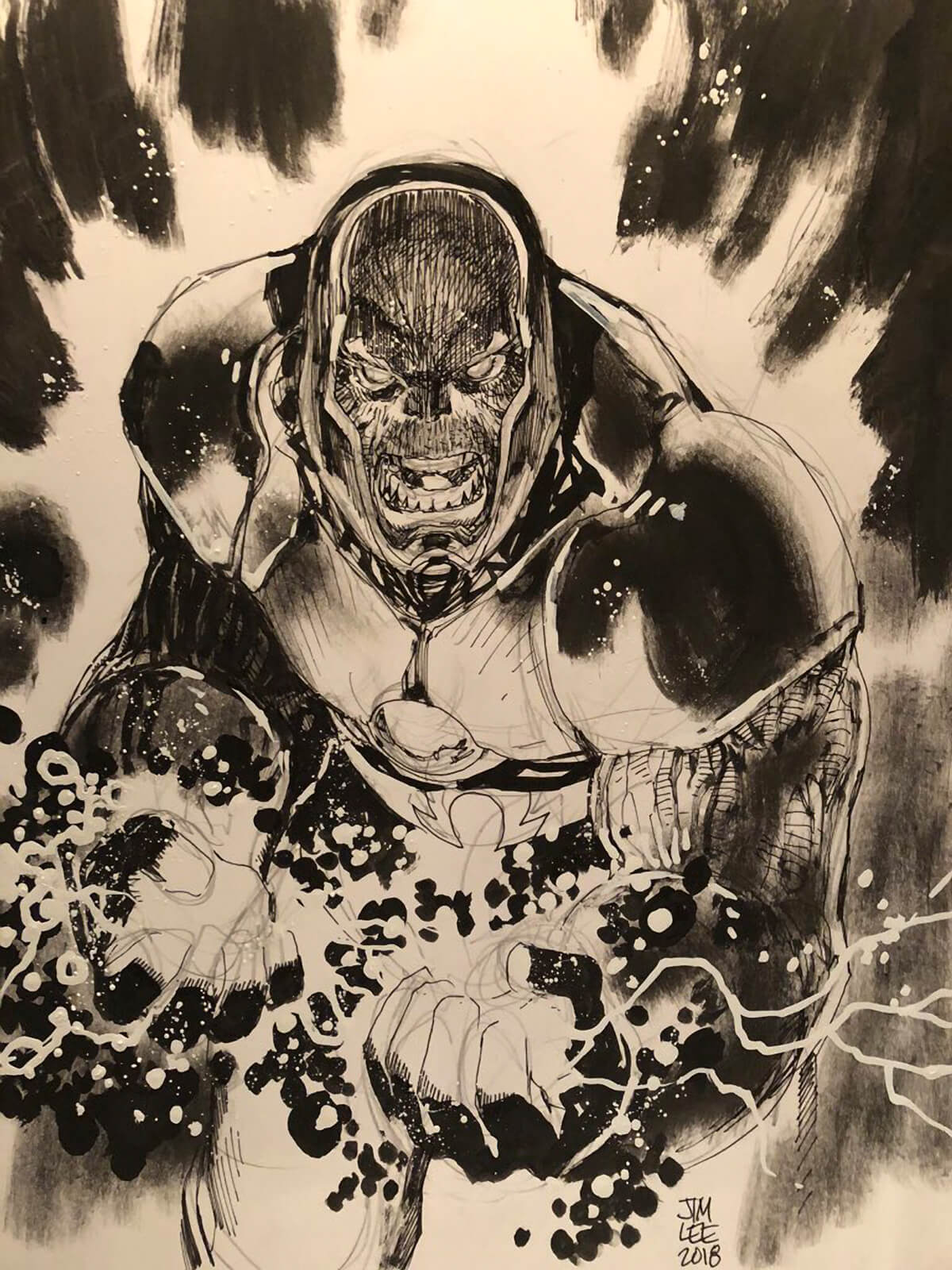 Darkseid by Jim Lee
