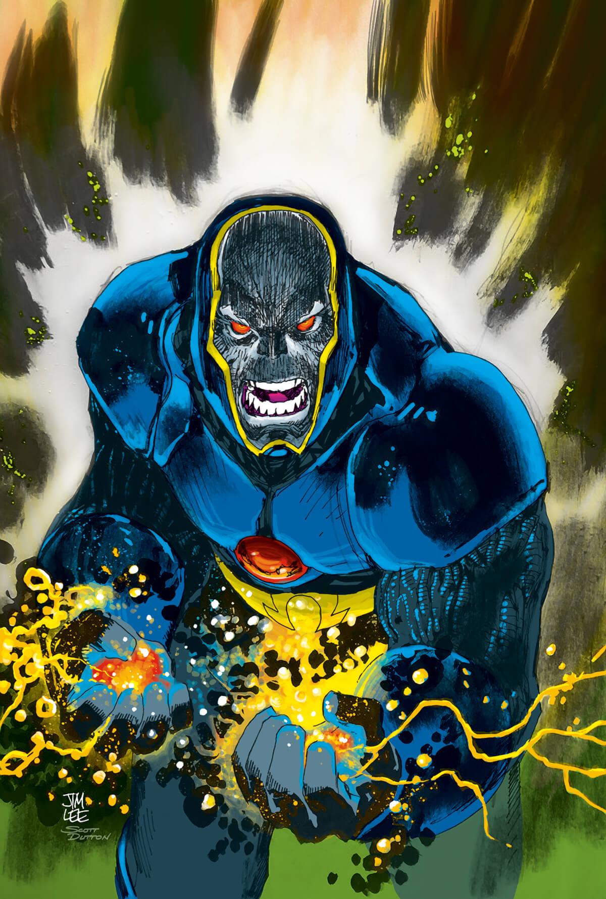 Comic book colouring by Scott Dutton