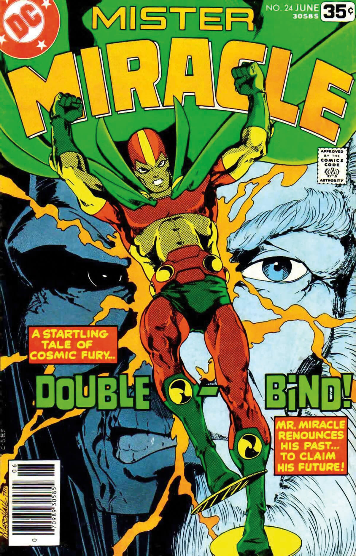 Mister Miracle 24 Cover by Marshall Rogers