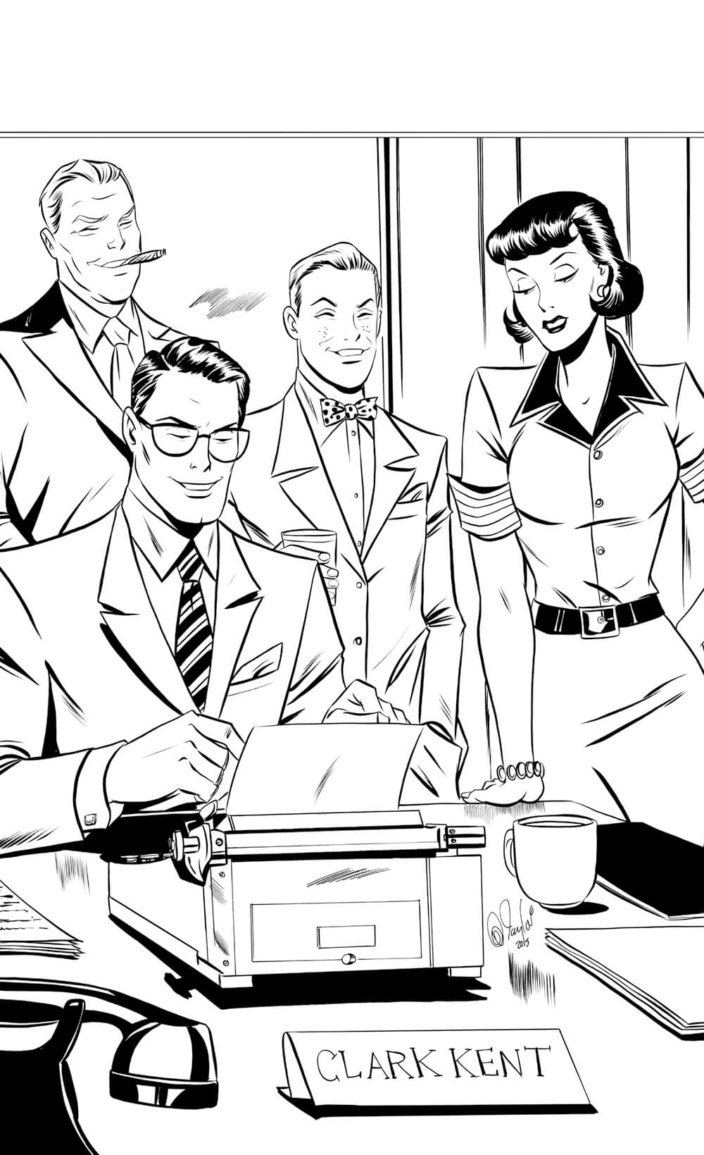 Lois Lane by Des Taylor