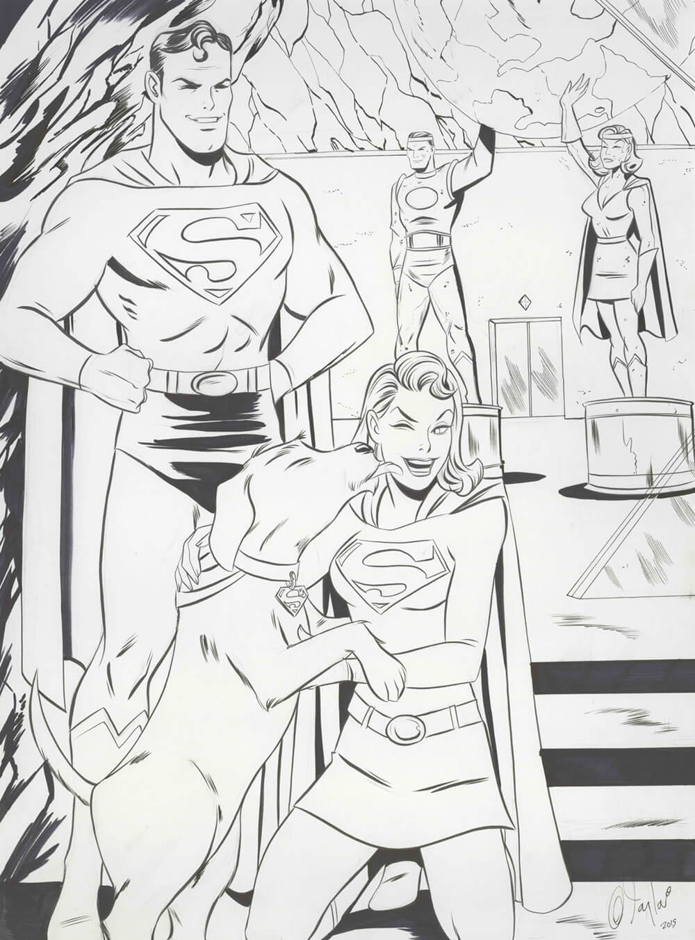 Superman by Des Taylor