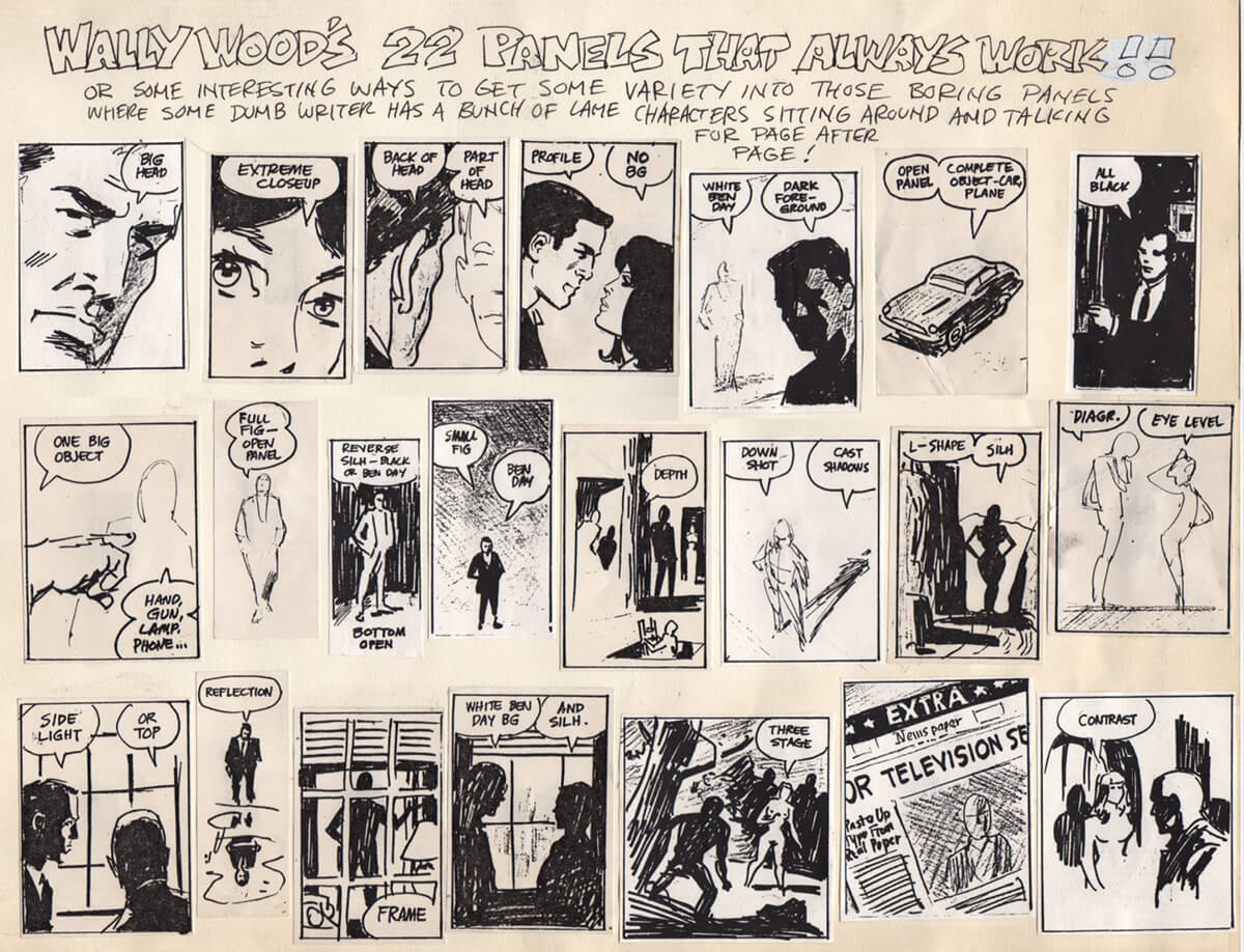 22 Panels That Always Work by Wally Wood
