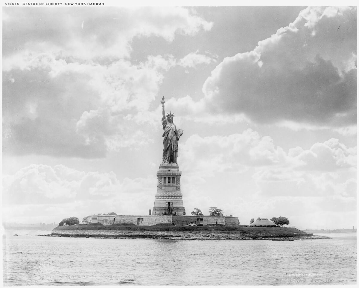 Statue Of Liberty - New York Harbor, 1905