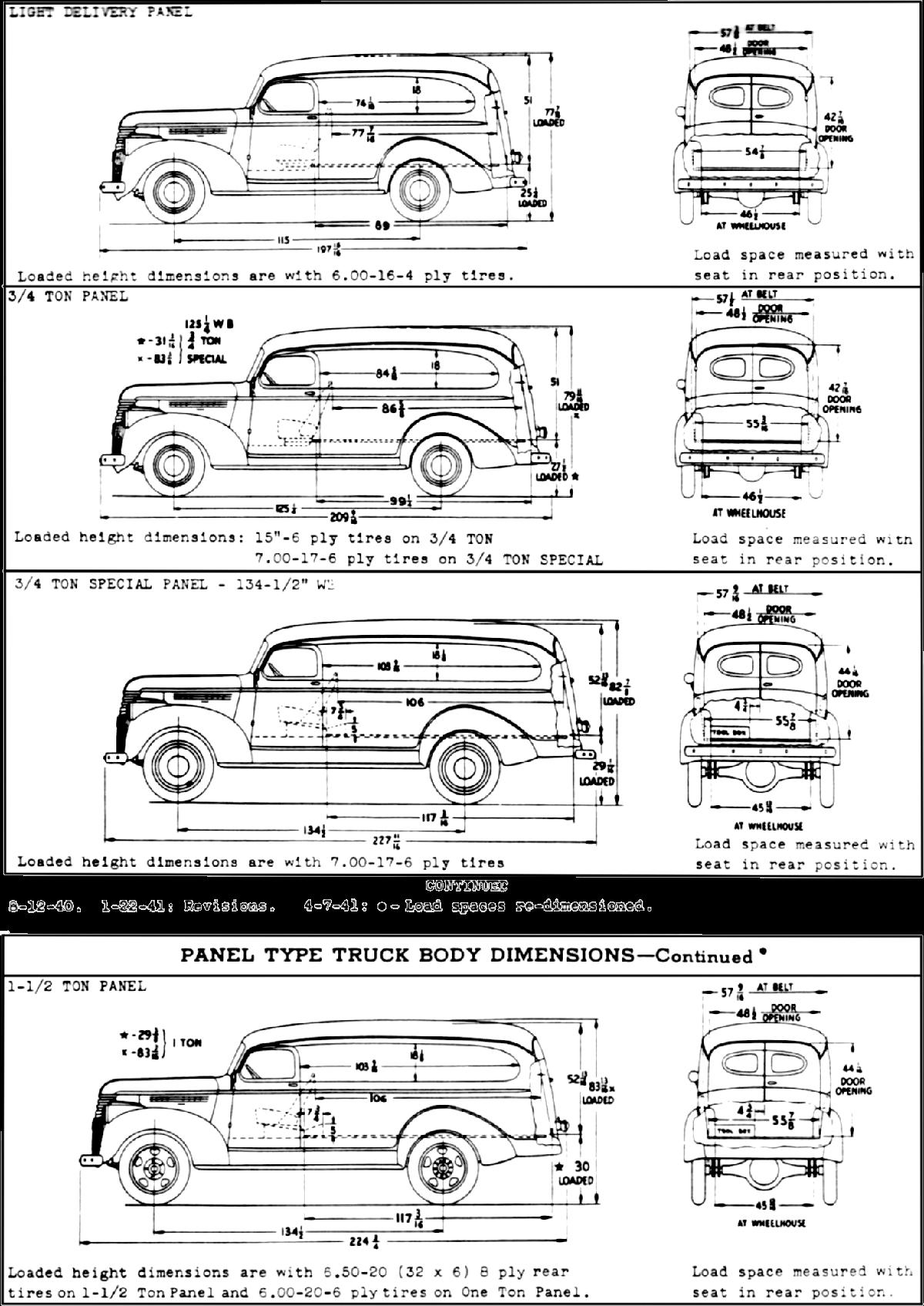 The 1946 chevrolet suburban calgary police paddy wagon - Chevrolet suburban interior dimensions ...