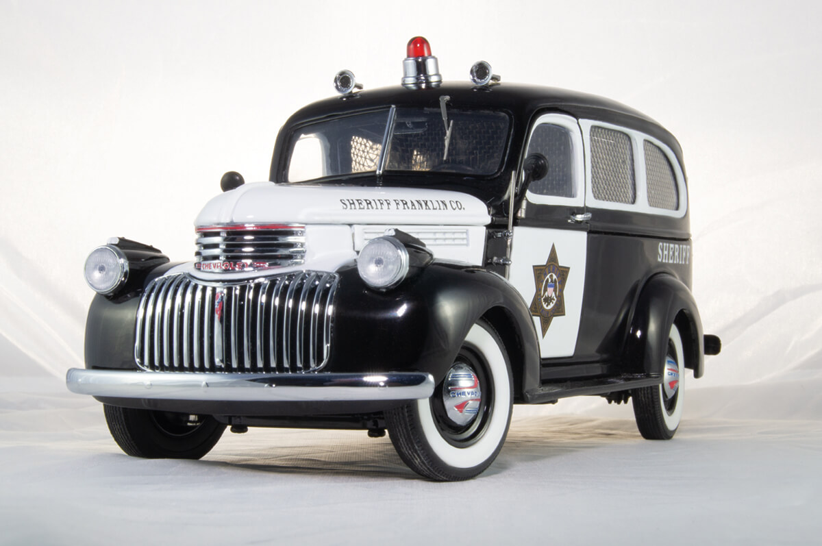 1946 Chevrolet Suburban Sheriffs Car