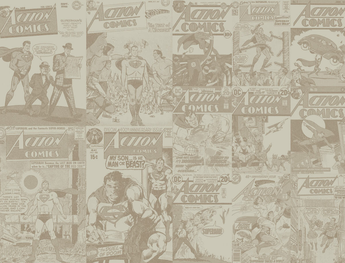 Action Comics 500 Background Covers