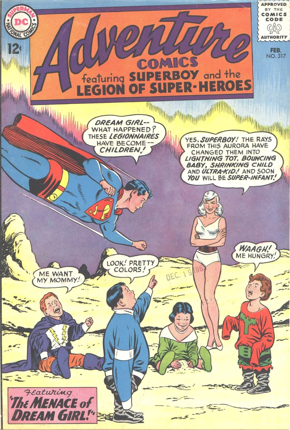 Adventure Comics 317 Cover by Curt Swan