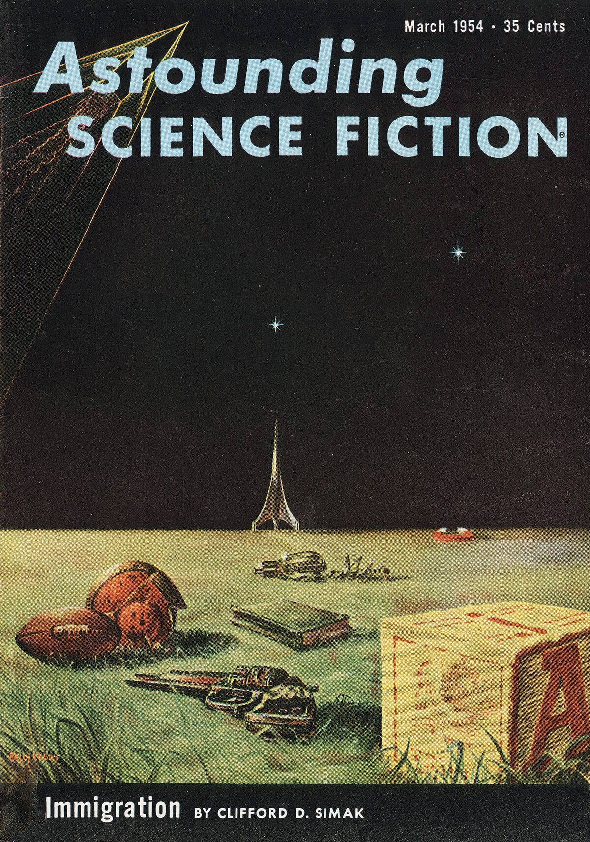 Astounding Science Fiction Mar 1954